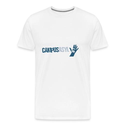 CampusAsyl einfach mit Händen - Männer Premium T-Shirt