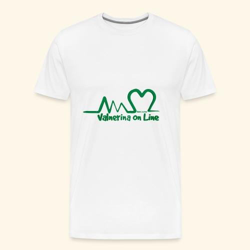 logo verde Associazione Valnerina On line - Maglietta Premium da uomo