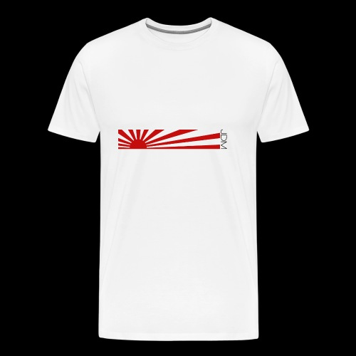 JDM flag design - Men's Premium T-Shirt