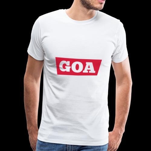 Techno Goa Shirt Musik Festival Geschenk - Männer Premium T-Shirt