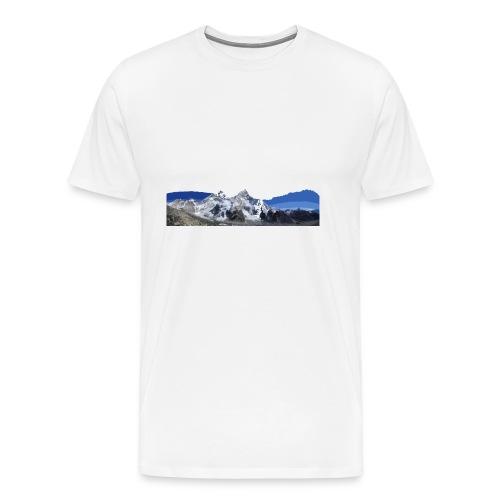 MOUNTAINS - Maglietta Premium da uomo