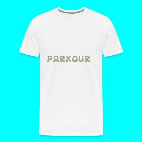Freerunning motiv - Premium-T-shirt herr