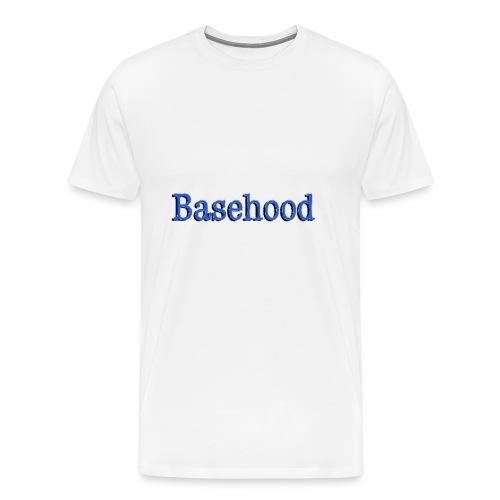 Basehood Basic Logo - Mannen Premium T-shirt