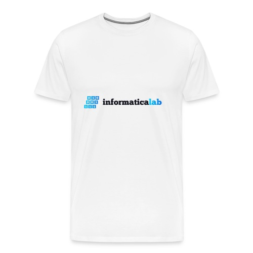 InformaticaLab logo for white background - Maglietta Premium da uomo