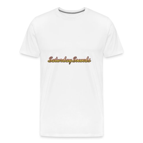 SaturdaySounds Hoes voor lPhone 5/5s. - Mannen Premium T-shirt
