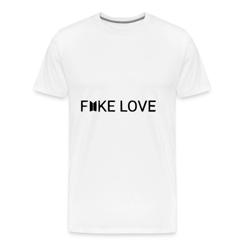 FAKE LOVE - T-shirt Premium Homme