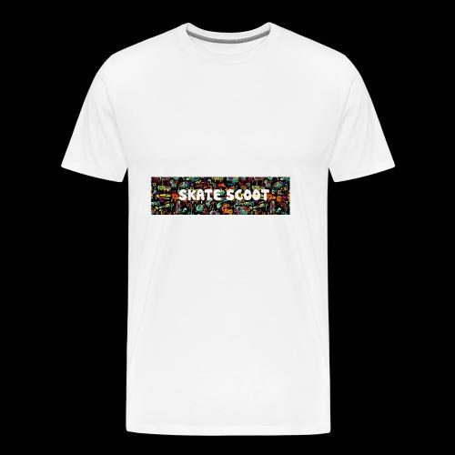 funny logo - Mannen Premium T-shirt