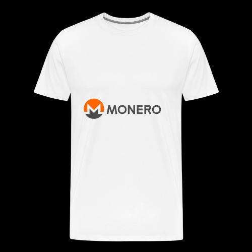 Monero Coin Logo 2 - Maglietta Premium da uomo