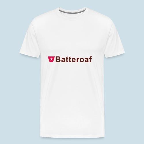 Batteraof w1 tp hori b - Mannen Premium T-shirt