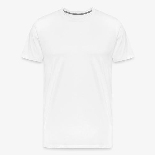 Schrift Weiss - Männer Premium T-Shirt