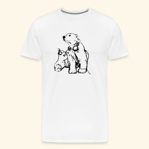 POLAR MUSIC BABY - Männer Premium T-Shirt