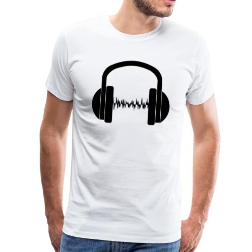 Kopfhörer Sonic - Männer Premium T-Shirt