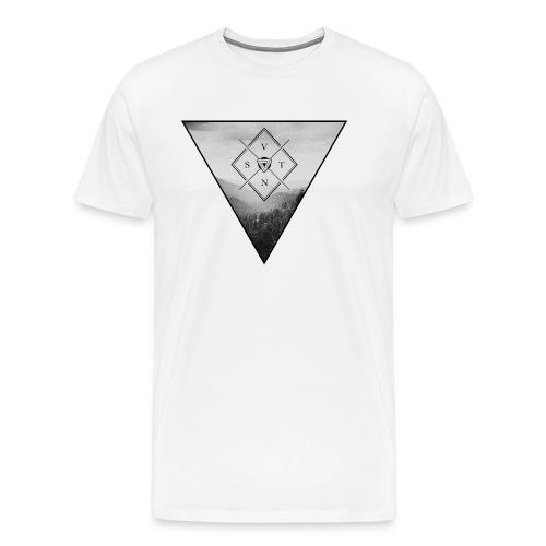 Villainspirit Triangle Landscape - Männer Premium T-Shirt