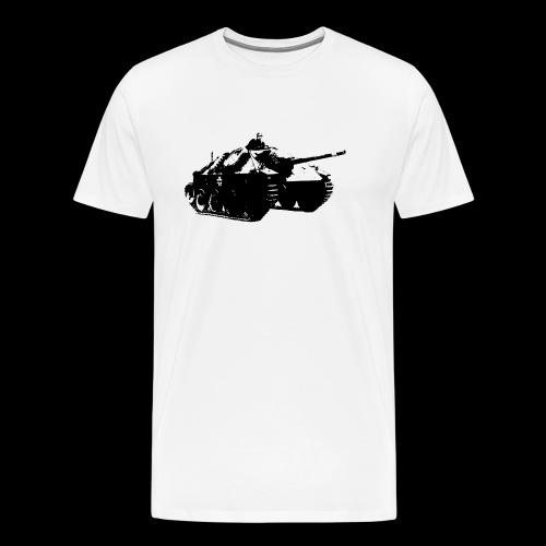 gehetzter Panzer - Männer Premium T-Shirt