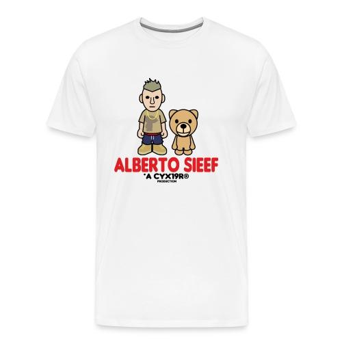 CYX19R® x ALBERTO SIEEF TEE - Männer Premium T-Shirt