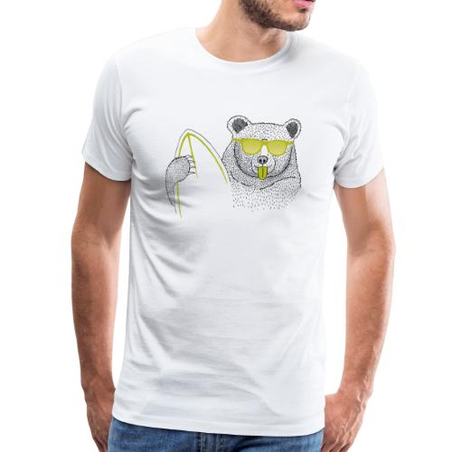 BABO green Bär - Männer Premium T-Shirt