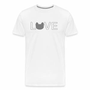 Love cats - Männer Premium T-Shirt