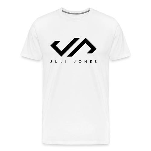 JuliJones Logo black - Männer Premium T-Shirt