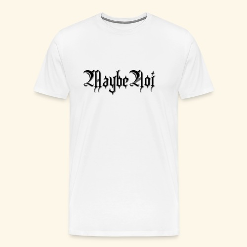 MaybeNoi Design - Männer Premium T-Shirt