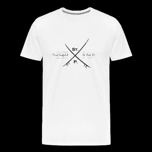 St. Pete Surfclub - Männer Premium T-Shirt