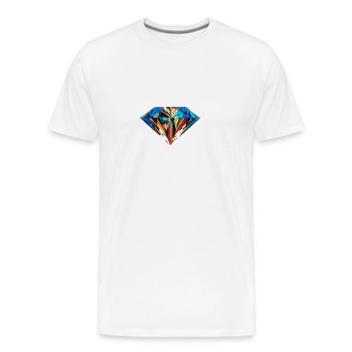 DiamondCraft Shine Like A Diamond. - Mannen Premium T-shirt