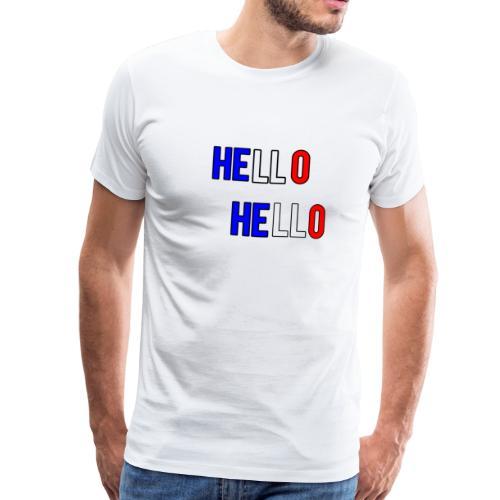 Hello hello - Men's Premium T-Shirt