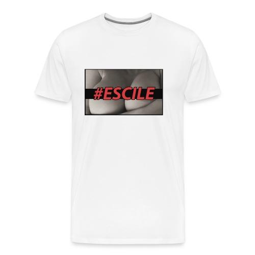 #ESCILEPILLOW - Maglietta Premium da uomo