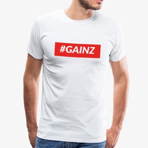 Gainz by Simon Mathis - Männer Premium T-Shirt