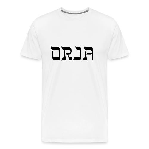 Orjapaita - Miesten premium t-paita