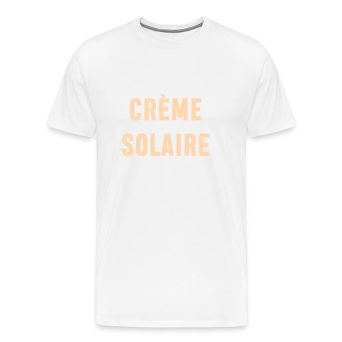 Crème solaire - T-shirt Premium Homme