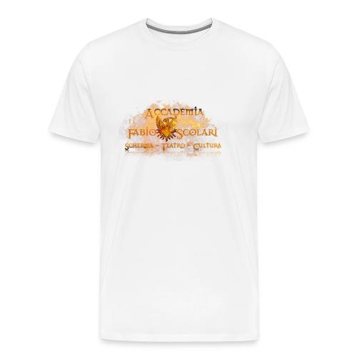 Accademia_Fabio_Scolari_trasprido-png - Maglietta Premium da uomo