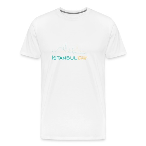 Istanbuldesign-png - Mannen Premium T-shirt