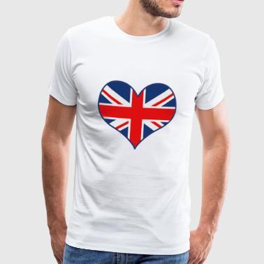 Amore GB - Maglietta Premium da uomo
