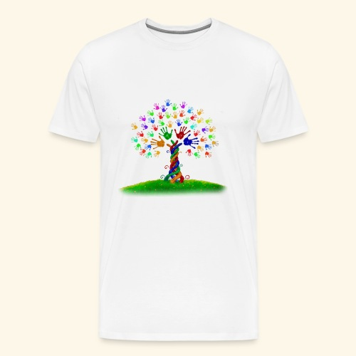 die lebendige Vielfalt - Männer Premium T-Shirt