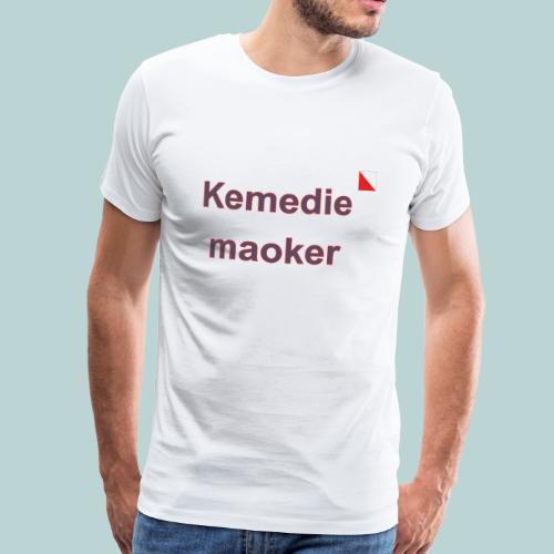 Kemediemaoker def b - Mannen Premium T-shirt