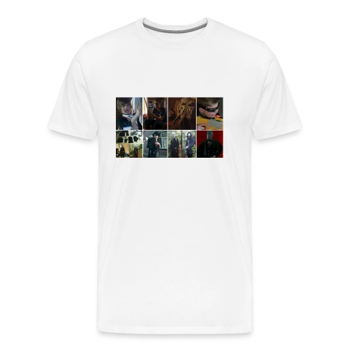 The Return Of The Sith Collage T-Shirt - Mannen Premium T-shirt