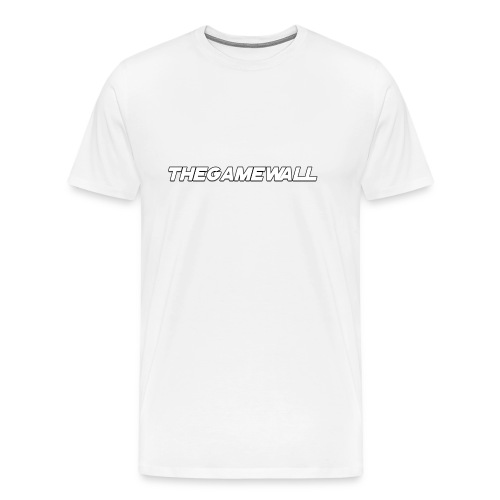 TheGameWall T-shirt 2 [BETA] - Mannen Premium T-shirt