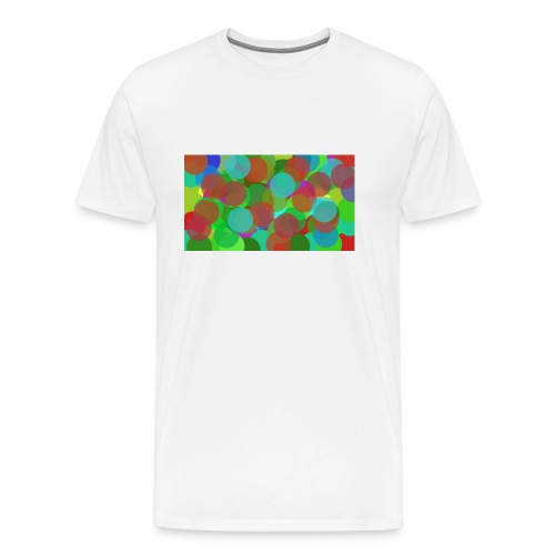 dotty - Premium-T-shirt herr