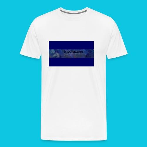 buismat bleu - Mannen Premium T-shirt
