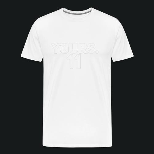 HOODY YOURS 11 - Mannen Premium T-shirt