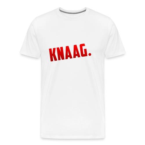 KNAAG. - T-Shirt - Mannen Premium T-shirt