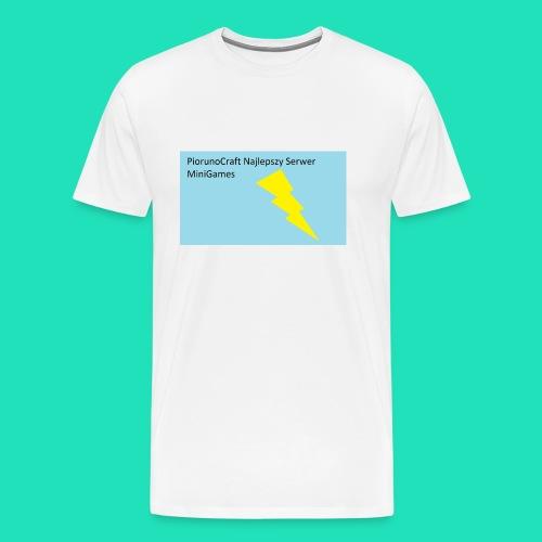 Etui Piorunowe Na Telefon 6s - Koszulka męska Premium