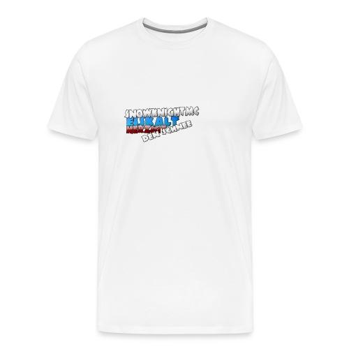 SnowKnightMC_Merch_Logo - Männer Premium T-Shirt