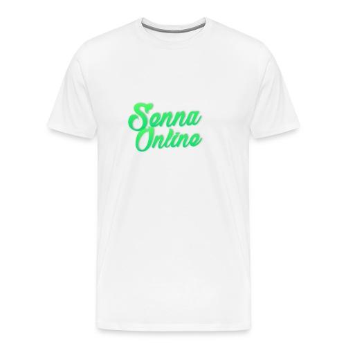 SENNAONLINE 2.0 - Mannen Premium T-shirt