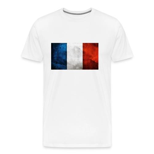 France Flag - Men's Premium T-Shirt