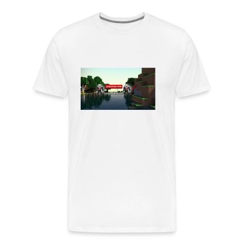 Cool GamerYT - Premium T-skjorte for menn