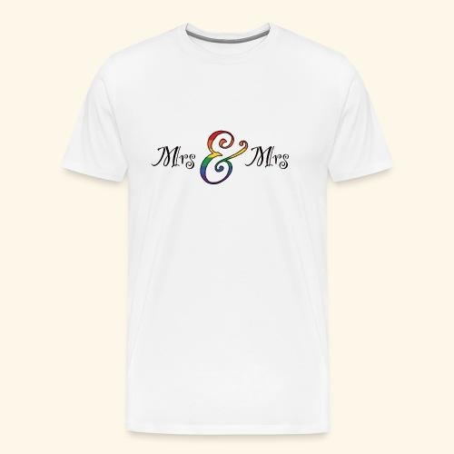 MrsMrs1 - Männer Premium T-Shirt