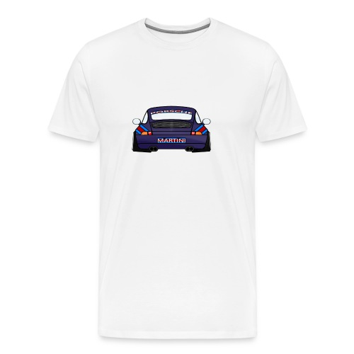 Magenta maritini Sports Car - Men's Premium T-Shirt