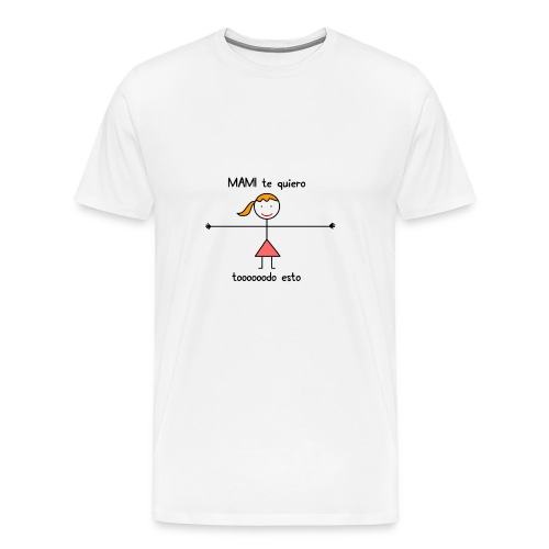 mami-png - Camiseta premium hombre