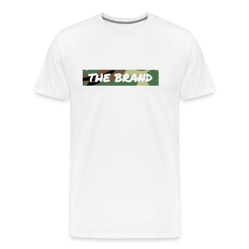 LIMITED EDITION CAMO BOX LOGO - Men's Premium T-Shirt